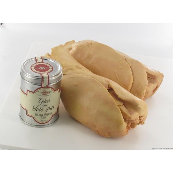Foie gras canard d vein 1000 g volailles des f tes 2013 for Cuisson foie gras bain marie casserole