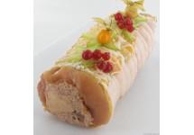 Roti de Chapon au foie gras 2 Kg